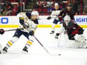 Is term holding up a contract extension between Jeff Skinner and the Buffalo Sabres?
