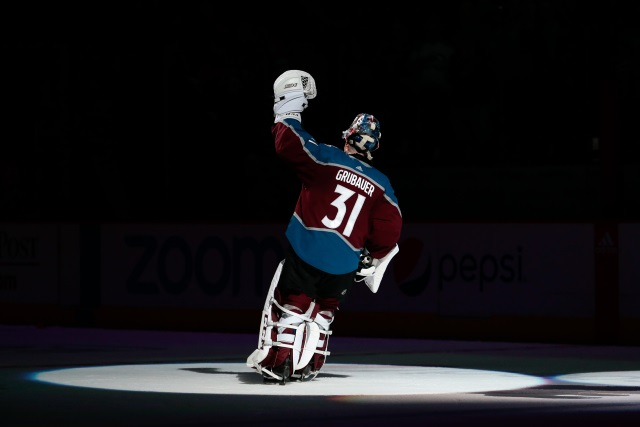So Is it Philipp Grubauer or Semyon Varlamov for the Colorado Avalanche?