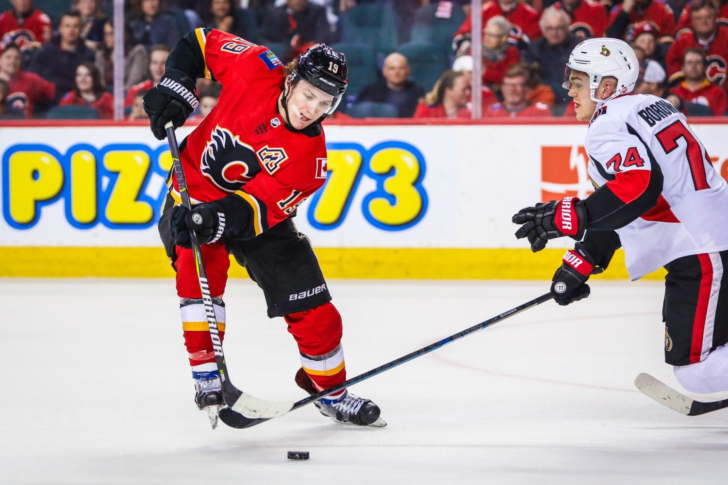 Could Matthew Tkachuk become the highest paid Calgary Flames player?