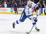 Tampa Bay Lightning Anton Stralman could return later in the first round.