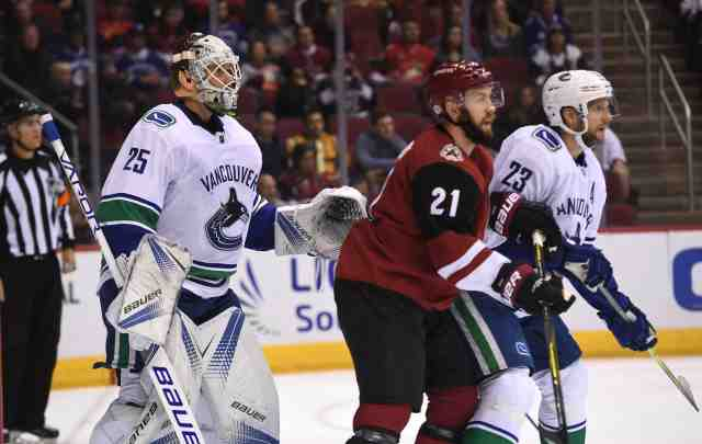 The Vancouver Canucks will talk to Jacob Markstrom about an extension