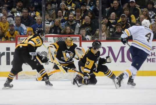 Defenseman Olli Maatta is one Pittsburgh Penguins player who could be on the move.
