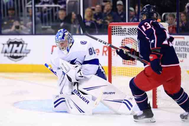 2019 Stanley Cup Playoffs: Tampa Bay Lightning vs the Columbus Blue Jackets