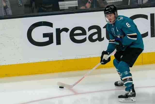 Sharks Joe Pavelski loses teeth and required some stitches.