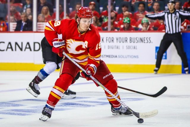 The Calgary Flames getting Matthew Tkachuk signed to a new contract should at the top of the Flames list of offseason moves.