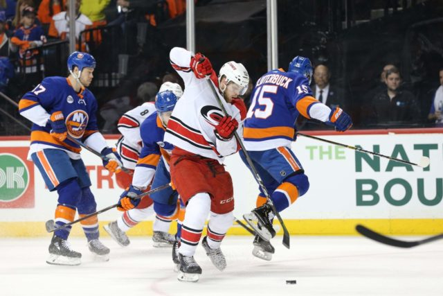 No update on Cal Clutterbuck. Carolina Hurricanes injury roundup.