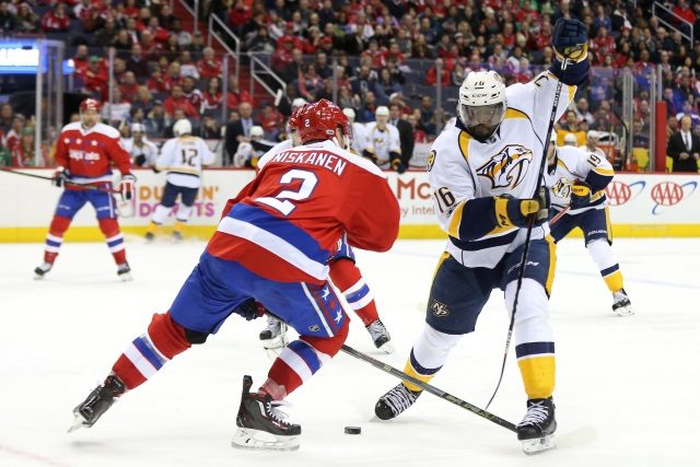 It could be an offseason in the rumor mill for Nashville Predators defenseman P.K. Subban.