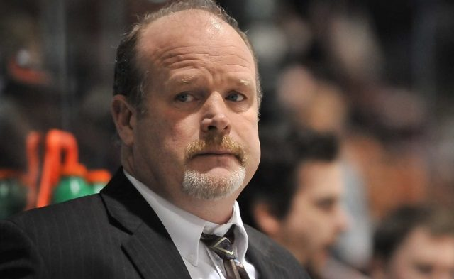 The Edmonton Oilers have interviewed Mark Hunter twice.