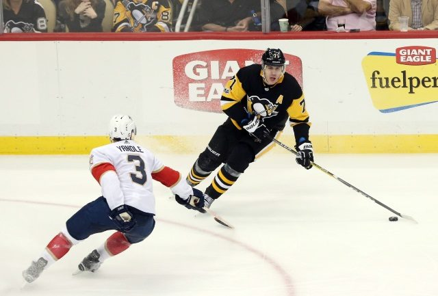 The Florida Panthers trading for Pittsburgh Penguins Evgeni Malkin doesn't really make sense.