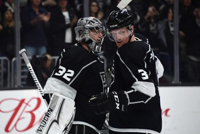 The trade value of Los Angeles Kings goaltender Jonathan Quick isn't high. They could buyout Dion Phaneuf.