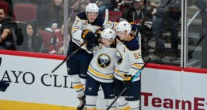 Rasmus Ristolainen and Jeff Skinner
