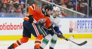 McKenzie says the Canucks and Oilers haven't talked about a Loui Eriksson - Milan Lucic trade