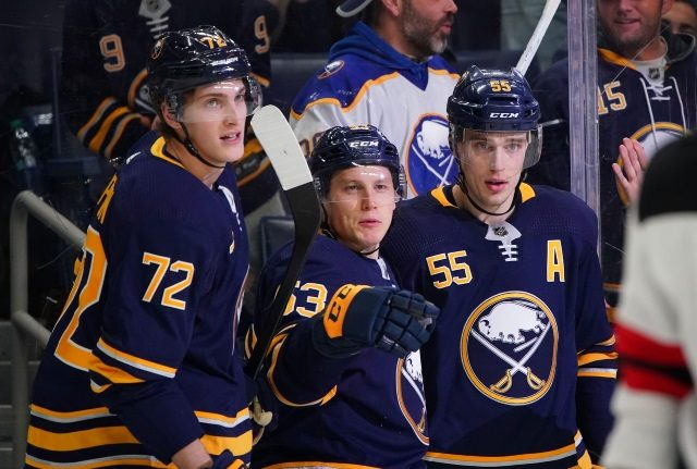 The Buffalo Sabres will meet with Jeff Skinner early next month. What do the Sabres do with defenseman Rasmus Ristolainen?
