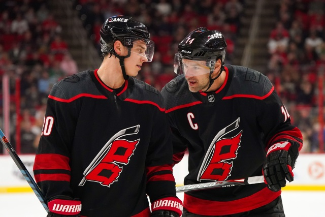The Carolina Hurricanes will have some decisions to make with regards to their goaltending. How much will Sebastian Aho get on his next contract? Will Justin Williams want to come back for another season?