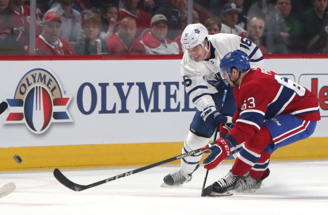 Would the Montreal Canadiens try to offer sheet Maple Leafs Mitch Marner?