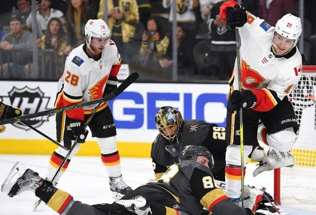 Calgary Flames, Winnipeg Jets, Nashville Predators and the Vegas Golden Knights will have some salary cap issues this offseason.