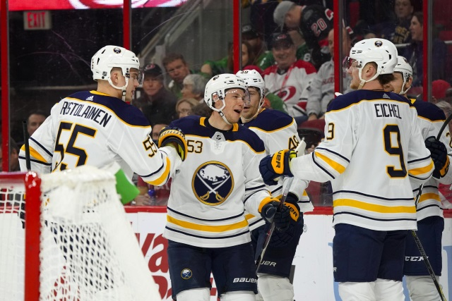 It would be a big hit to the Buffalo Sabres if Jeff Skinner left. They need to decide to keep Rasmus Ristolainen or to move him for a top-six forward.