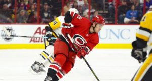 Carolina Hurricanes Micheal Ferland could play tonight.