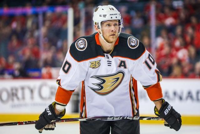 Should the Anaheim Ducks buyout forward Corey?