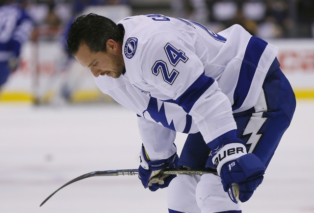 Ryan Callahan knows his days could be numbered with the Tampa Bay Lightning