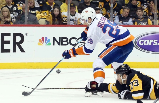 The New York Islanders signed Brock Nelson to a six-year contract extension.