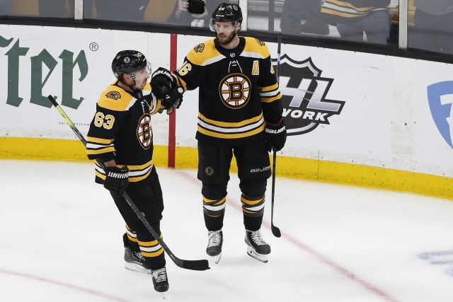 Brad Marchand and David Krejci should be ready for go for Game 1