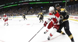 Stanley Cup playoffs: Carolina Hurricanes and the Boston Bruins