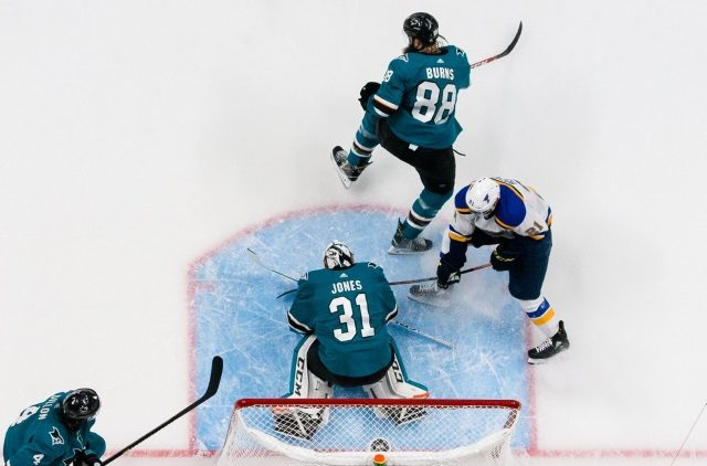 2019 Stanley Cup Playoffs: Sharks feeling blue after another Game 2 Loss