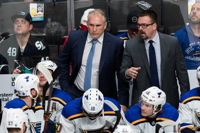 2019 Stanley Cup Playoffs - The St. Louis Blues Turnaround Began The Day Craig Berube Took Over
