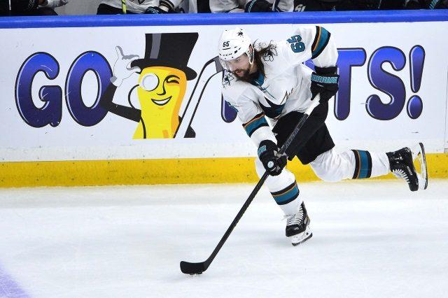 San Jose Sharks aren't saying much about defenseman Erik Karlsson.