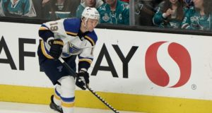 NHL Stanley Cup Playoffs - St. Louis Blues Jay Bouwmeester On Brink Of First Cup Chance