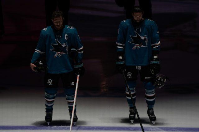 San Jose Sharks not updating Joe Pavelski and Erik Karlsson's status for Game 6.