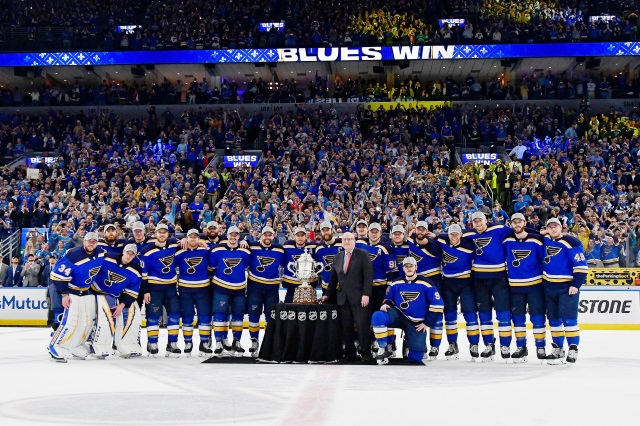 The St. Louis Blues advance to the Stanley Cup Final and will meet the Boston Bruins
