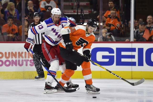 Kevin Hayes to visit Philadelphia. The Flyers would like to have him signed by the draft or need to move on to Plan B.