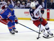 Questions involving the New York Rangers, Chris Kreider and Artemi Panarin.