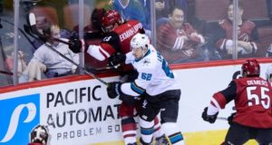 Kevin Labanc may be okay with a bridge deal with the San Jose Sharks. The Arizona Coyotes are open to anything.