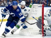 The Tampa Bay Lightning traded forward J.T. Miller to the Vancouver Canucks