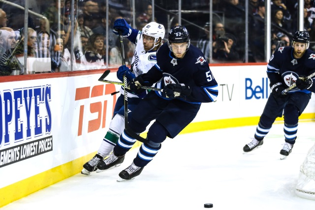 The Vancouver Canucks met with pending unrestricted free agent defenseman Tyler Myers last night