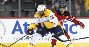 The Nashville Predators have traded defenseman P.K. Subban to the New Jersey Devils for Steven Santini, Jeremy Davies and two second-round draft picks