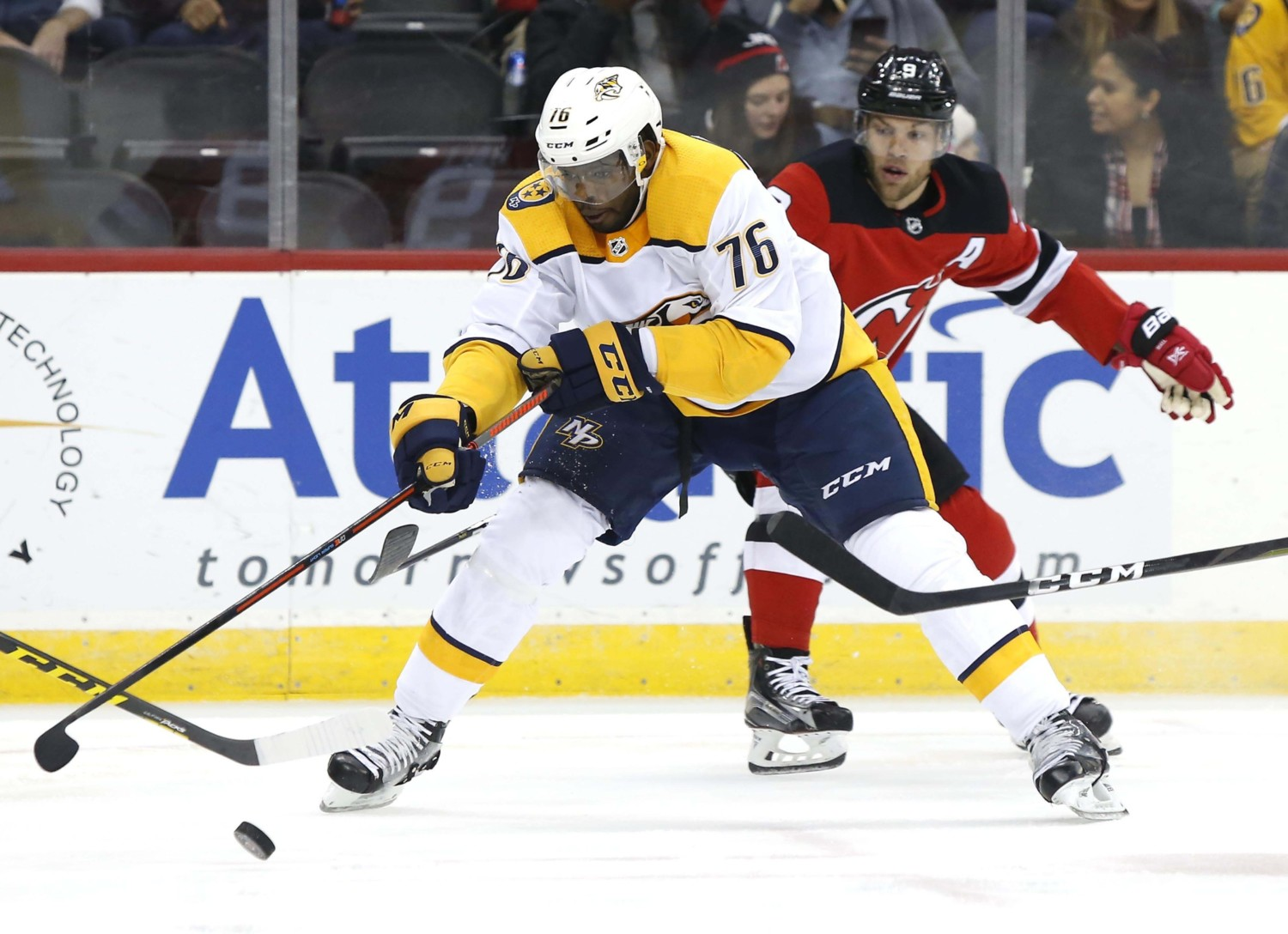 new style 1216c 9030d NHL Trade: The Nashville Predators Trade P.K. Subban To The ...