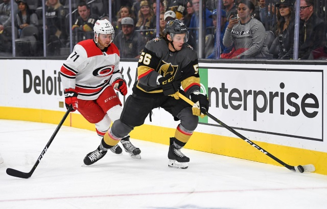 Vegas deals forward Erik Haula to Carolina in cap-relief deal