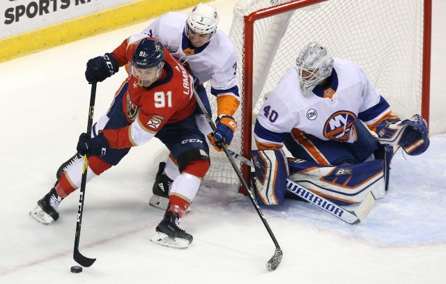 Sounding like Robin Lehner may not be heading back to the Islanders. Lehner would be plan B for the Florida Panthers.