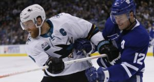 Toronto Maple Leafs forward may only be wanting to play for the San Jose Sharks if he's traded.