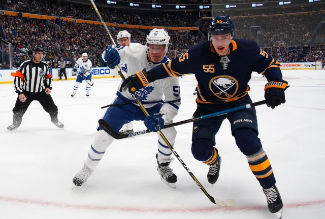 Sounds like the Buffalo Sabres will keep Rasmus Ristolainen. Canadiens and Wild looking at Jake Gardiner