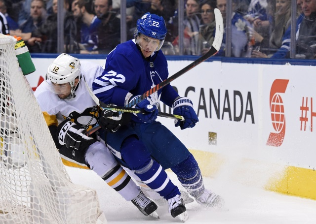 A lot of teams interested in Toronto Maple Leafs defenseman Nikita Zaitsev according to Dreger. A Zaitsev trade could happen soon, or it could take a while.