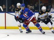The Boston Bruins have an interest in New York Rangers Chris Kreider