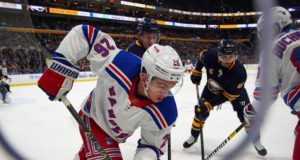 The Buffalo Sabres have shown some interest in Jimmy Vesey
