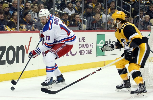 Kevin Hayes had a good visit with the Philadelphia Flyers. Kris Letang's name could hit the rumor mill again as Phil Kessel trade talk cools.