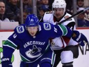 The Vancouver Canucks put Ryan Spooner on waivers for the purpose of being bought out