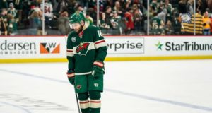 Teams continue to call the Minnesota Wild about forward Jason Zucker.